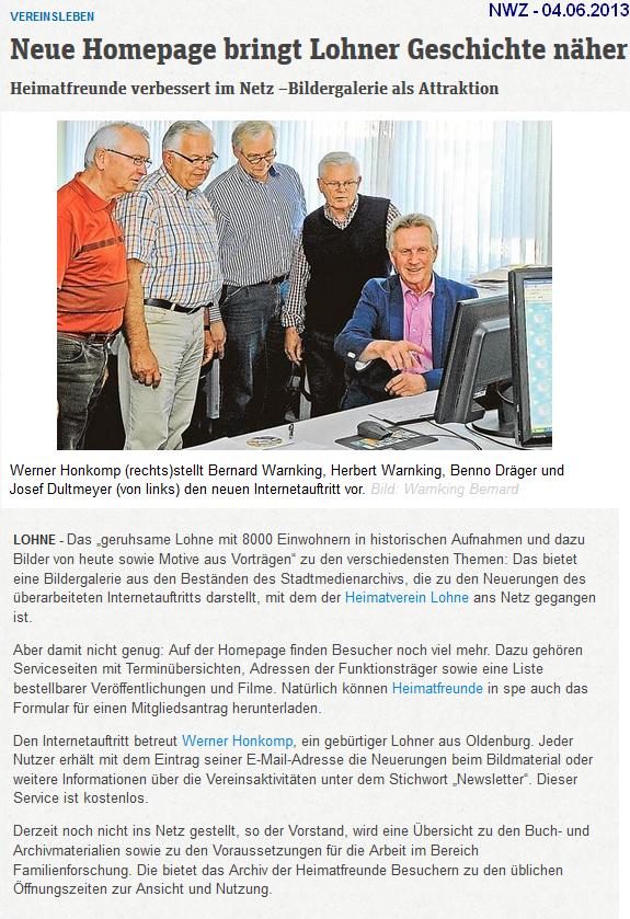 NWZ-2013-06-13-Neue_Homepage